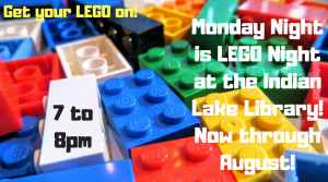 Lego Night @ Children's Room at the Indian Lake Library