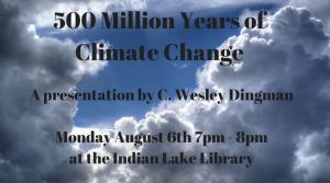 500 Million Years of Climate Change @ The Indian Lake Public Library | Indian Lake | New York | United States