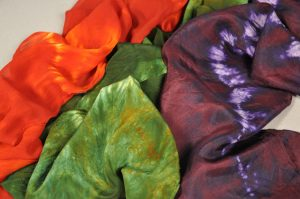 The September Crafty: Silk Scarves in the Microwave @ Town of Indian Lake Public Library | Indian Lake | New York | United States
