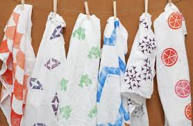 The September Crafty: Hand Carved Block Print Towels @ Town of Indian Lake Library | Indian Lake | New York | United States