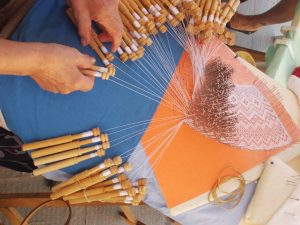 Bobbin Lace Demonstration @ Indian Lake Public Library