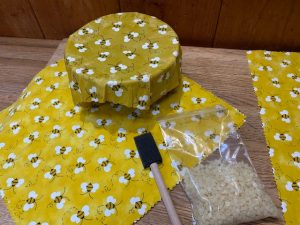 Bees Wax Bowl Covers & Food Wrappers @ online with Indian Lake Library